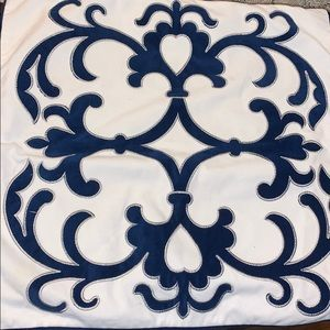 Blue & White pillow covers